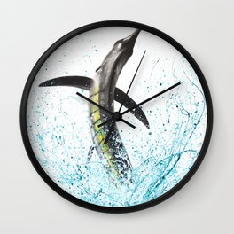 Reef Rider Wall Clock