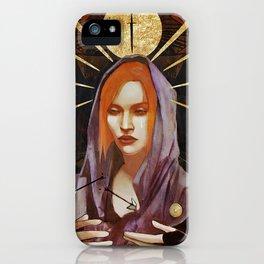Nine of Swords: Leliana iPhone Case