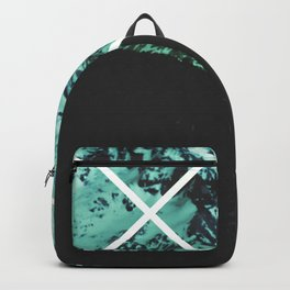 Turquoise Mountain Compass Backpack