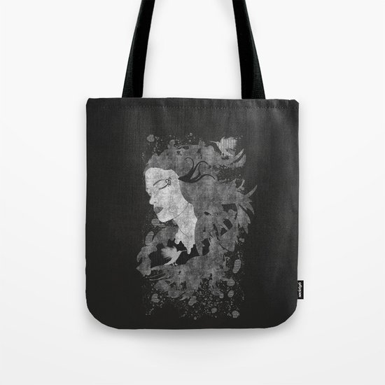 Cosmic dreams (B&W) Tote Bag