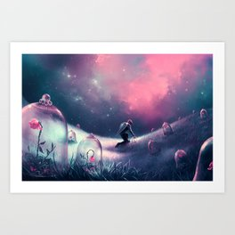 You belong to me Art Print