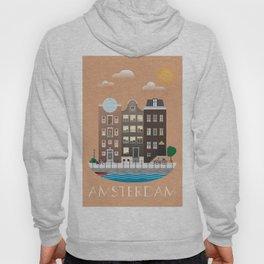 AMSTERDAM poster Hoody