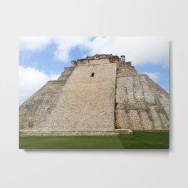 Uxmal Mayan Ruins Metal Print