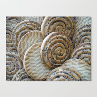 cookies Canvas Prints featuring Cookies by Vitta