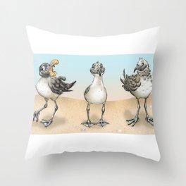 Seagull! Throw Pillow
