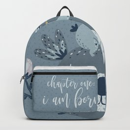I Am Born Backpack