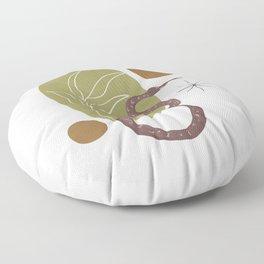 Serpent Garden Floor Pillow