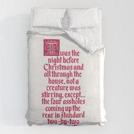 The Night Before Christmas Duvet Cover