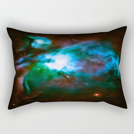 NeBuLa : Hauntingly Beautiful Dark Orion Rectangular Pillow