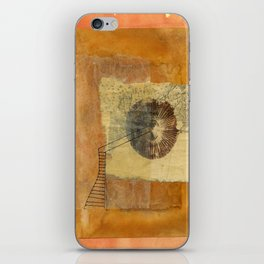 Flowers and Galaxies of Stars Were Her Inspiration iPhone Skin