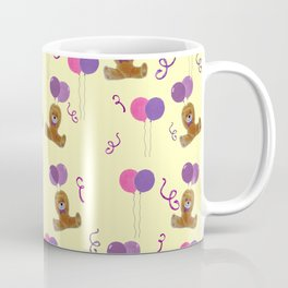 Teddy for girls with balloons Coffee Mug