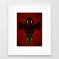 firefly Framed Art Prints featuring Firefly by Danny Haas