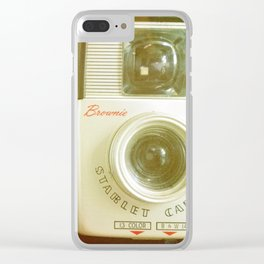 Travel Photographer Clear iPhone Case