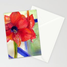 Maui Amaryllis Stationery Cards