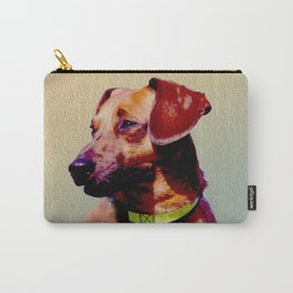 Dachs Right! Dachshund Painted Photograph Carry-All Pouch