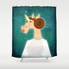 You're my only Horn Shower Curtain