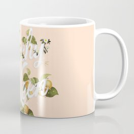 Peachy Keen : Peach Coffee Mug