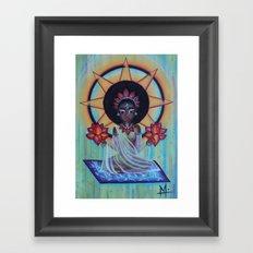 AFROdite Framed Art Print