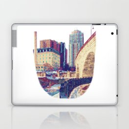 Stone Arch Bridge-Minneapolis, Minnesota Laptop & iPad Skin