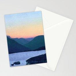 Obertalbach, Sustenpass, Swiss alps Stationery Cards