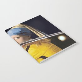 """Vermeer's """"Girl with a Pearl Earring"""" & Kill Bill Notebook"""
