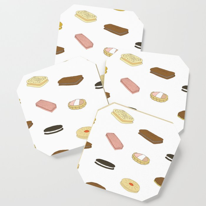 biscui - biscuit pattern Coaster