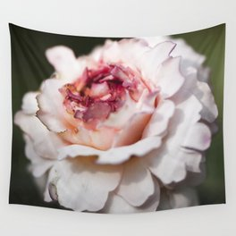 October rose Wall Tapestry