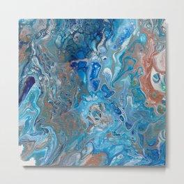 Seaspray Lagoon Metal Print