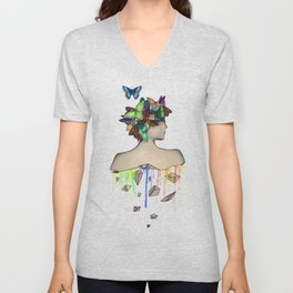 Metamorphosis Girl Unisex V-Neck