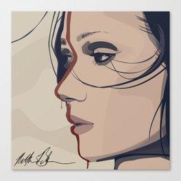 Tribal Girl I Canvas Print