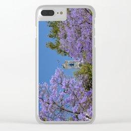 Jacaranda in Portugal Clear iPhone Case