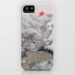 Alpine Moon iPhone Case