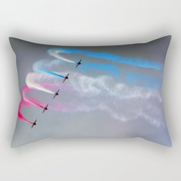 Colorful smoke Rectangular Pillow