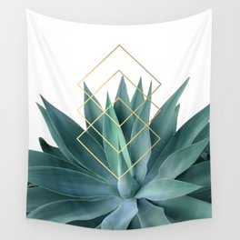 Agave geometrics Wall Tapestry