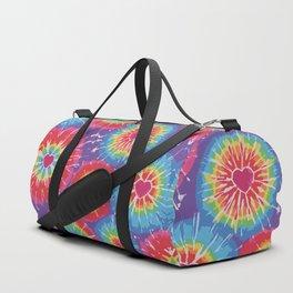 Love Tye Dye Duffle Bag