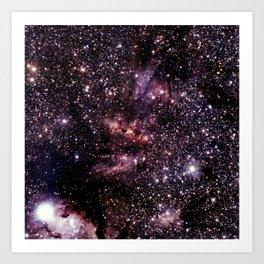 Galaxy Constellation Scorpius Art Print