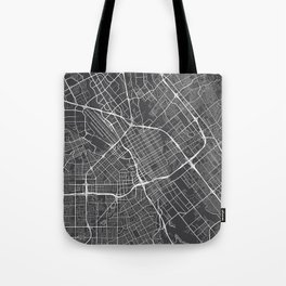San Jose Map, USA - Gray Tote Bag