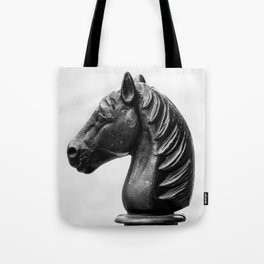 Vintage Horse Pole Tote Bag
