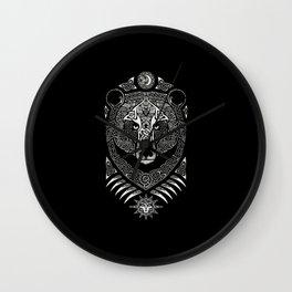 Scandinavian bear Wall Clock
