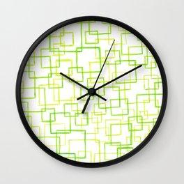 #52. JOJO - Squares Wall Clock