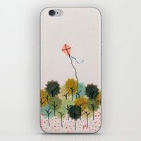 wind iPhone & iPod Skins featuring Wind by carosurreal