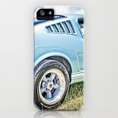 1966 Ford Mustang Fastback Car iPhone (5, 5s) Slim Case