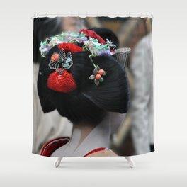 Geisha Maiko Photograph Shower Curtain