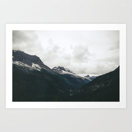 Mountain Valley Art Print