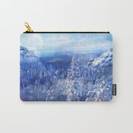 Blue Land II Carry-All Pouch