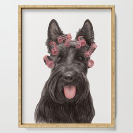 Scottish Terrier Serving Tray