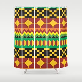 Tribal Vibe III Shower Curtain