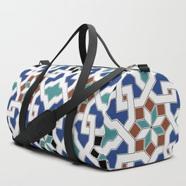 Geometric Pattern - Oriental Design Pt. 7 Duffle Bag