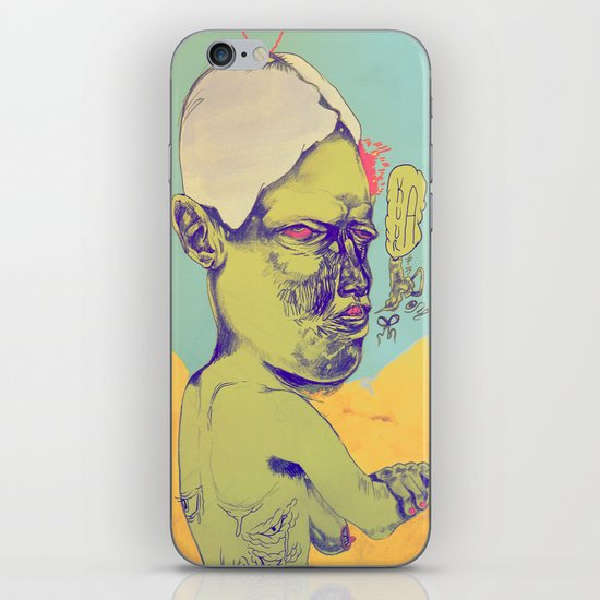 c-c-c-combo breaker iPhone & iPod Skin