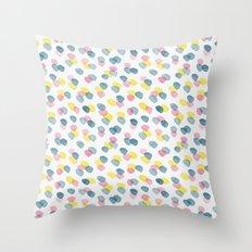 pastel dots Throw Pillow